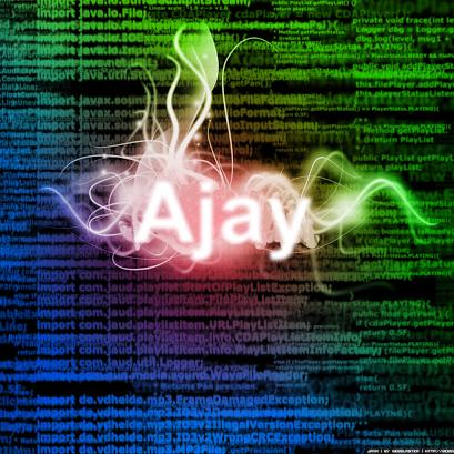 Ajay Ramachandran (ajayyy)
