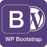 wp-bootstrap logo