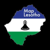 MapLesotho