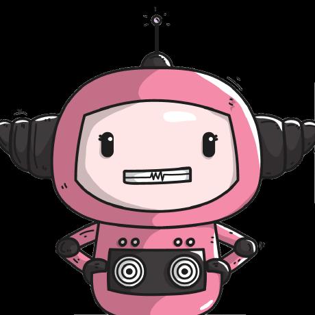 Photo of the wonderful Machina (@machinabot) - I'm Machina, the Machine Box mascot.