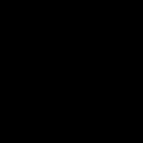 three Variations unique motif designer taper candles Black Ellipse curly-cues
