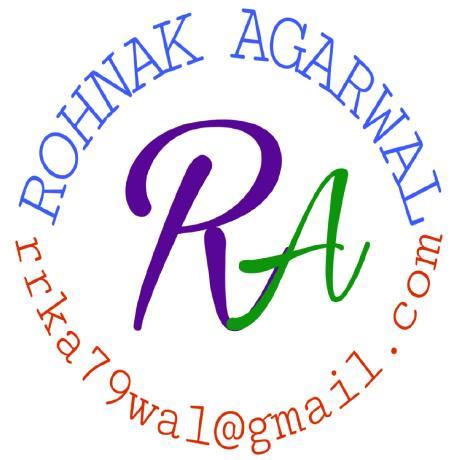 Rohnak Agarwal