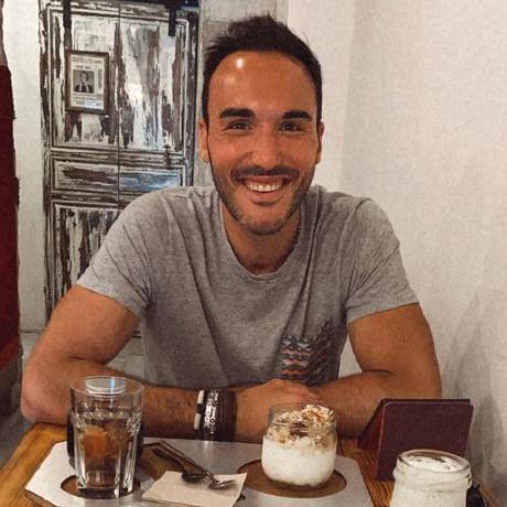 Photo of the wonderful Lorenzo Bugiani (@canemacchina)
