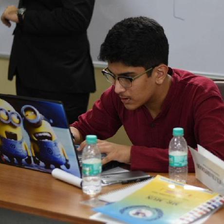 Image of the author (Vinamr Bajaj)