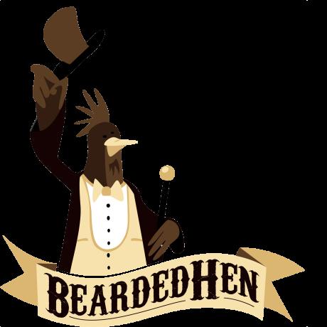 Bearded-Hen