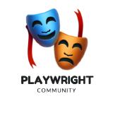 playwright-community logo