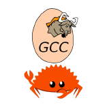 Rust-GCC logo