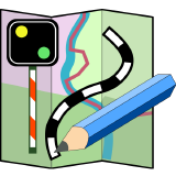 OpenRailwayMap logo