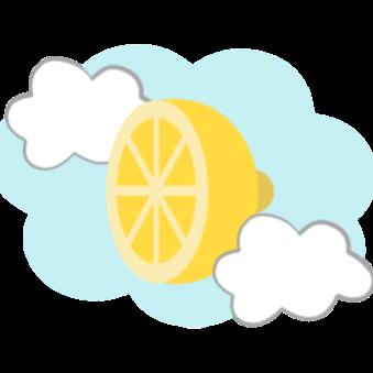 CitroHacks's logo within a circle next to the text with the name of CitroHacks